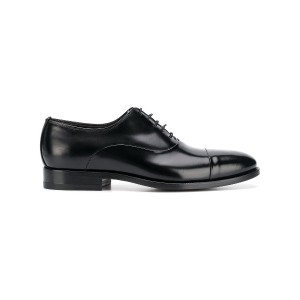 Tagliatore classic oxford shoes - ブラック