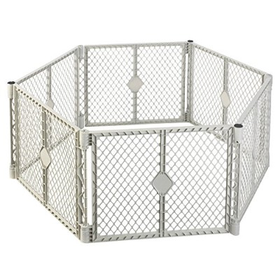 NORTH STATES SUPERYARD XT Baby/Pet Gate & Play Yard by North States Industries