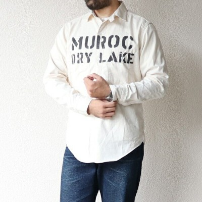 FREEWHEELERS フリーホイーラーズ MUROC FRONTY RACER WORK SHIRT 1910 - 1920s STYLE WORK CLOTHING MINI...