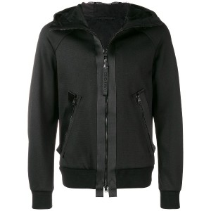 Tom Ford zipped hooded jacket - ブラック