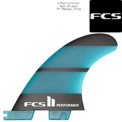 FCS II Performer Neo Glass Tri Retail Fins トライフィン フィン サーフィン サーフ サーフボード 3枚