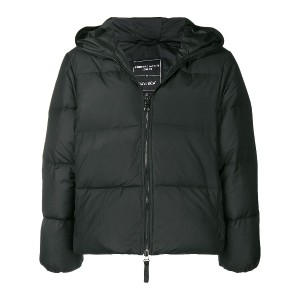 Duvetica Love hooded puffer jacket - ブラック