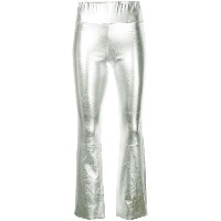 Sprwmn flared trousers - シルバー