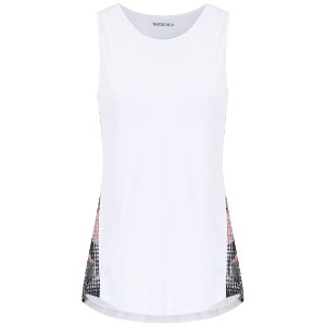 Track & Field panelled tank top - ホワイト