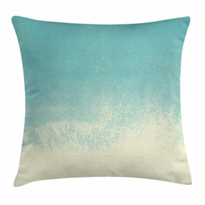 (60cm W By 60cm L, Multi 12) - Mint Throw Pillow Cushion Cover by Ambesonne, Abstract Gradient...
