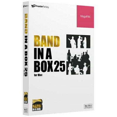 【送料無料】 PGMUSIC 〔Mac版/USBメモリ〕 Band-in-a-Box 25 MegaPAK PGBBPMM111 [Mac用]