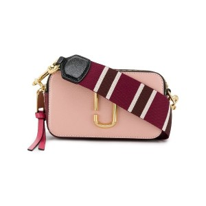 Marc Jacobs Snapshot small cross body bag - ピンク