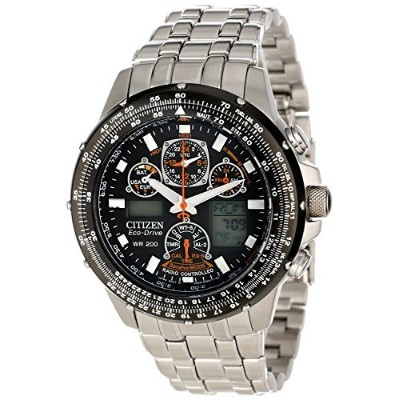 (シチズン) CITIZEN Skyhawk A-T Stainless Steel Chronograph Atomic Men Watch 男性腕時計 JY0000-53E [並行輸入品]...