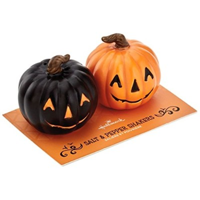 Jack-O'-Lantern Salt and Pepper Shakers Set of 2