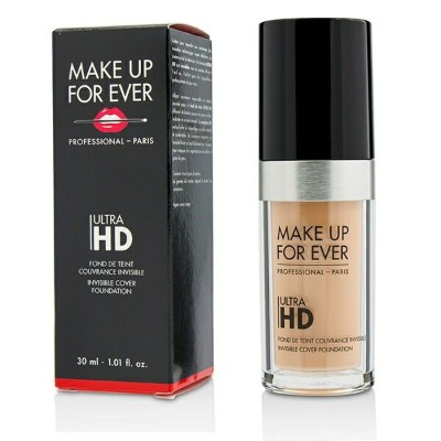 Make Up For EverUltra HD Invisible Cover Foundation - # R220 (Pink Porcelain)メイクアップフォーエバーUltra HD...