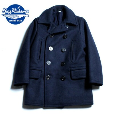 """No.BR14146 BUZZ RICKSON'Sバズリクソンズtype PEA COAT""""NAVAL CLOTHING FACTORY""""WOOL LINING"""