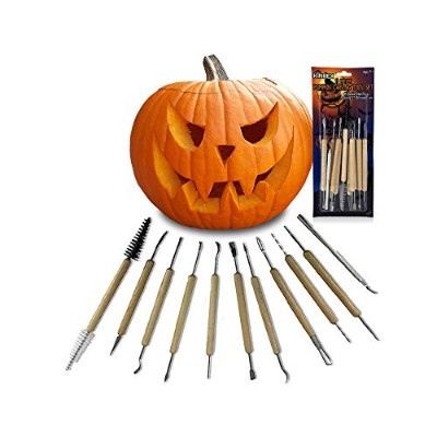 KINREX Carving Tools - Clay Tool Set - Wood Tool Set - 11 Double Sided Pieces (21 Tool Set)