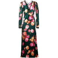 F.R.S For Restless Sleepers floral print maxi dress - グリーン