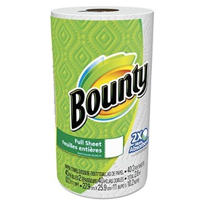 Bounty Paper Towels, White, 30 Rolls, 40 Sheets Per Roll, 1200 Sheets Total [並行輸入品]
