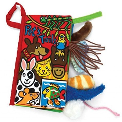 Tenworld Animal Tails Cloth book Baby Early Development Learning & Education Toy (Pet's) by Tenworld