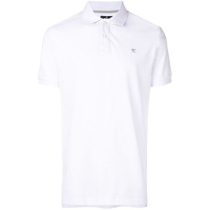 Hackett embroidered logo polo shirt - ホワイト