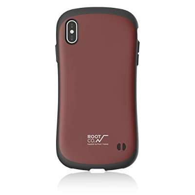 【ROOT CO.】iPhoneXS Max ケース Gravity Shock Resist Case. /ROOT CO.×iFace Model(ワイン)