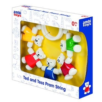 Ambi Toys Ted and Tess Pram String