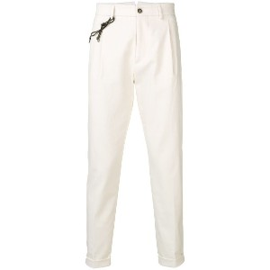 Berwich tapered trousers - ホワイト