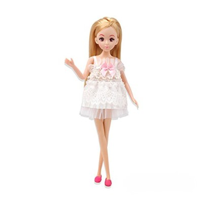 (Light dance flying) - Joan Miro Barbie Blonde girl Doll Party toy Cute Happy Birthday For Kids ...