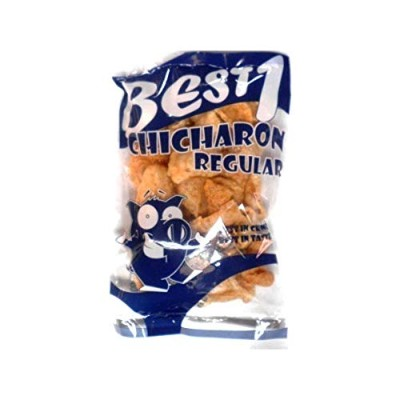 CHICHARON REGULAR 豚皮菓子 60g Best1  BEST IN CRUNCH BEST IN TASTE 即食 小食品 脆猪皮 油炸