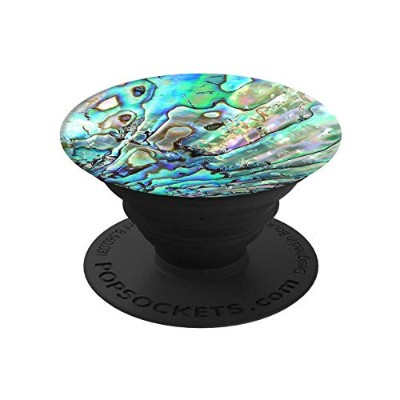PopSockets Faux Abalone/ポップソケッツ スマートフォン・タブレット用グリップ&スタンド/iPhone/Android
