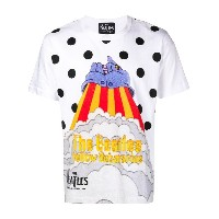 The Beatles X Comme Des Garçons Yellow Submarine print T-shirt - ホワイト