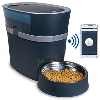 PetSafe Smart Feed Automatic Dog and Cat Feeder, Smartphone, 24-Cups, Wi-Fi Enabled App for iPhone...