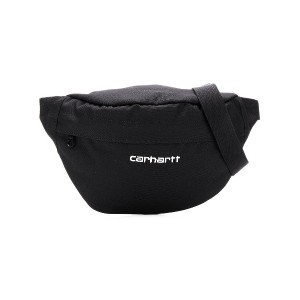 Carhartt Heritage logo embroidered belt bag - ブラック