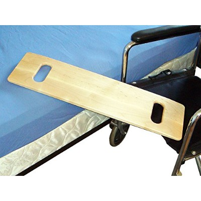 MTS Medical Supply SafetySure Slotted Maple Transfer Board, 30 Inch by MTS Medical Supply