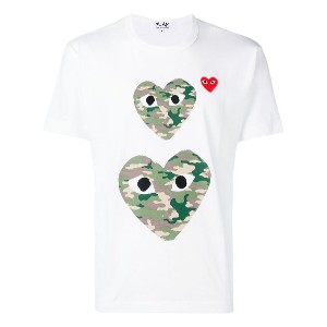 Comme Des Garçons Play Play Tシャツ - ホワイト