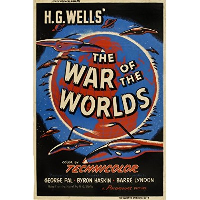 """The War of the Worlds (ウェルズ)–( 24"""" x 36""""映画ポスター"""