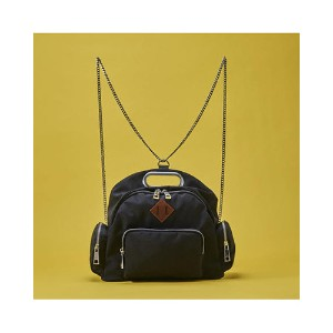 AGACIC chain Backpack○AG0200600 Black カバン・バッグ