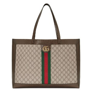Gucci Ophidia GG tote - ブラウン