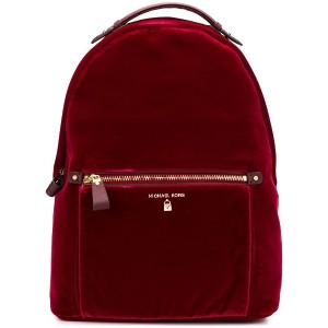 Michael Michael Kors large velvet backpack - レッド
