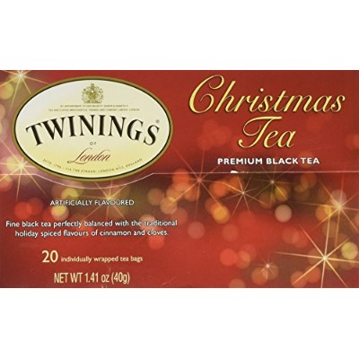 Twinings Black Tea, Christmas, 1.41 Ounce, 20 Count(並行輸入商品)