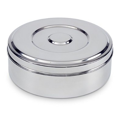 Spice Container - Masala Dabba - 7 Compartments, Airtight by Indian-Tiffin