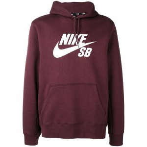 Nike SB Icon pullover hoodie - レッド