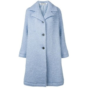 McQ Alexander McQueen perfectly fitted coat - ブルー