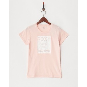 ROXY FITNESS WILD TIMES SS TEE○RST174108 ピンク スポーツウェア
