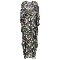 Adriana Degreas printed long kaftan - ピンク