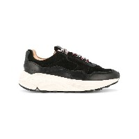 Buttero lace-up platform sneakers - ブラック