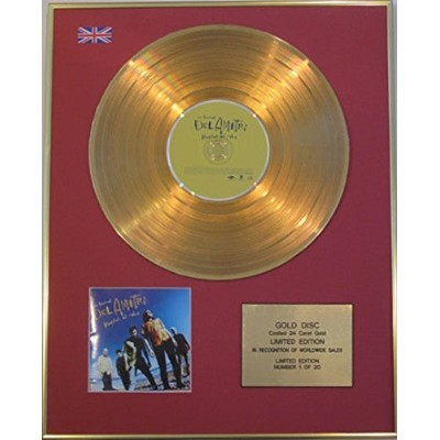 DEL AMITRI - Limited Edition 24 Carat CD Gold Disc - HATFUL OF RAIN (THE BEST OF)