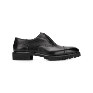 Salvatore Ferragamo laceless oxford shoes - ブラウン