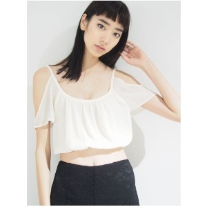 【SALE 73%OFF】EMODA 2WAY OPEN CAMI(ホワイト)