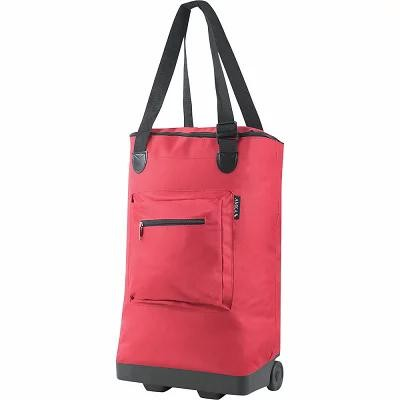 AMKA トートバッグ Everyday Rolling Shopping Tote Red