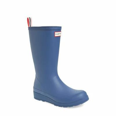 ハンター HUNTER レインシューズ・長靴 Original Play Tall Rain Boot Peak Blue