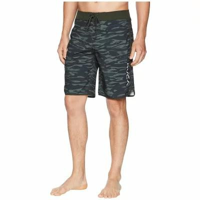 ルーカ RVCA 海パン Eastern 20 Trunks Dark Military