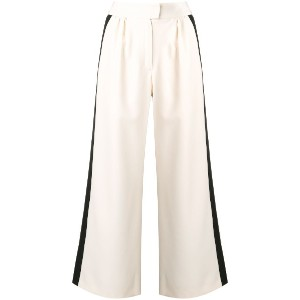Gianluca Capannolo two-tone wide leg trousers - ニュートラル