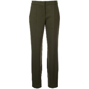 Narciso Rodriguez slim-fit trousers - グリーン